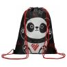 Worek szkolny na obuwie, Bambino Panda