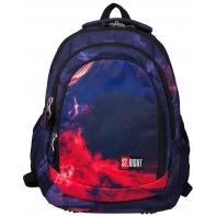 Trzykomorowy plecak szkolny St.Right 29 L, Flames BP4