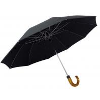 Automatyczny POLSKI parasol męski marki Kulik, czarny