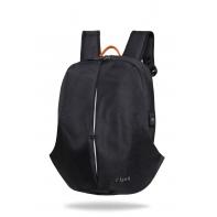 "Męski plecak miejski na laptopa 13-15,6"" + USB, Kick Black R-bag"
