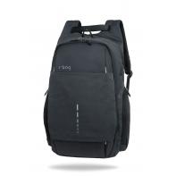 """Plecak męski na laptopa 13-15,6"""" + USB, R-bag Drum Black"""