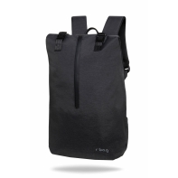 "Plecak męski na laptopa 13-15,6"" + USB, R-bag Hopper Black"