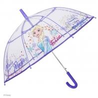 Dziecięca parasolka przezroczysta, Frozen - Kraina Lodu