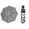 Automatyczna bardzo mocna parasolka damska Doppler, czarno-biała BW01