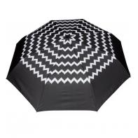 Wytrzymała automatyczna parasolka damska PARASOL, zyzgak + lamówka