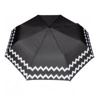 Wytrzymała automatyczna parasolka damska PARASOL, biała lamówka