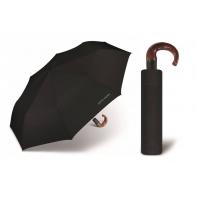 Automatyczny ekskluzywny parasol męski Pierre Cardin, czarny