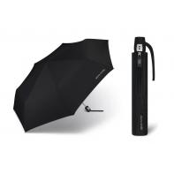 Automatyczny, lekki parasol męski Pierre Cardin, czarny