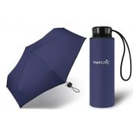Kieszonkowa, ultra mini parasolka Happy Rain 16 cm, granatowa