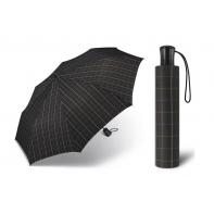 Automatyczna męska parasolka Happy Rain, w kratkę