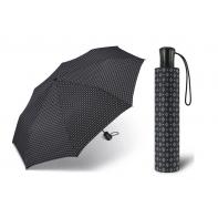 Automatyczna męska parasolka Happy Rain, wzorzysta