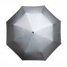 Automatyczna parasolka w kolorze srebrnym