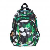 Dwukomorowy plecak szkolny St.Right 19 L, MOTYW GRY 3D BP26