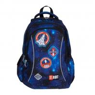 Dwukomorowy plecak szkolny St.Right 19 L, KOSMOS BP26