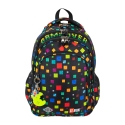 Czterokomorowy plecak szkolny St.Right 19L, GAME OVER BP58