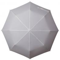 Klasyczna damska składana parasolka w kolorze kremowym