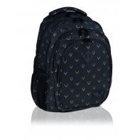 Trzykomorowy plecak szkolny młodzieżowy Astra Hash, OH DEER