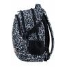 Dwukomorowy plecak szkolny młodzieżowy Astra Hash, BLACK TERRAZZO