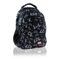 Dwukomorowy plecak szkolny młodzieżowy Astra Head, LOL