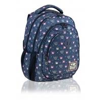 Plecak szkolny dziecięcy Astra Hash 21L, PRINCESS KORONY