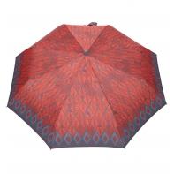 Automatyczna parasolka damska marki Parasol, brązowe liście