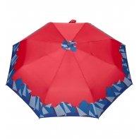 Automatyczna parasolka damska marki Parasol, czerwona z origami