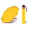 Automatyczna parasolka Benetton, żółto-różowa