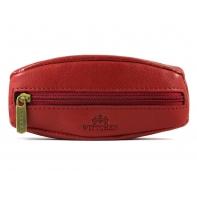 Skórzane etui na klucze Wittchen 21-2-021, czerwone