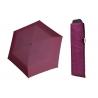 Wytrzymała PŁASKA parasolka Doppler Carbonsteel, BOROWA w kropki