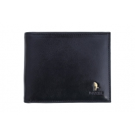 Męski portfel Puccini P1697 w kolorze czarnym z wyjmowaną wkładką na karty