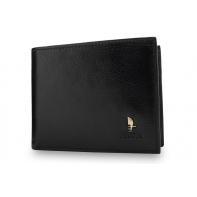 Męski portfel Puccini P1694 w kolorze czarnym