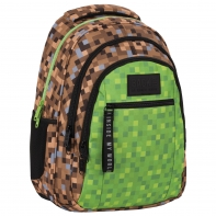 Plecak szkolny trzykomorowy BackUp game Derform