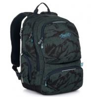 Dwukomorowy plecak młodzieżowy Topgal ROTH 20048