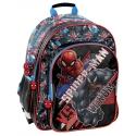 Plecak szkolny dwukomorowy Spiderman SPX-090, PASO