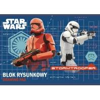 Blok rysunkowy 20 kartek A4 STAR WARS St.Majewski