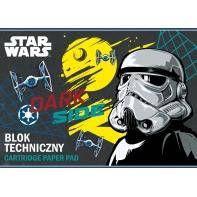 Blok techniczny 10 kartek A4 STAR WARS St.Majewski