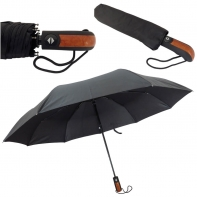 Automatyczny parasol męski z prostą rączką BLUE RAIN RB-259