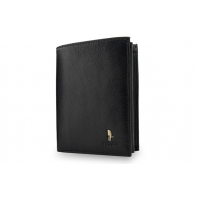 Skórzany portfel Puccini P1907 w kolorze czarnym