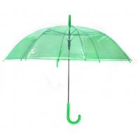 Parasolka przezroczysta zielona