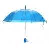 """Parasolka przezroczysta błękitna, """"Tulipan"""""""