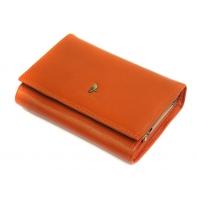 Portfel damski Puccini P1709 w kolorze pomarańczowym