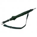 Zielona parasolka z regulowanym paskiem na ramię
