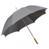 Damska parasolka w rozmiarze XL w kolorze jasno szarym