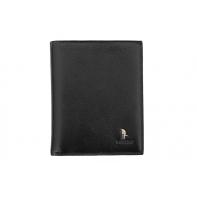 Męski portfel pionowy Puccini P1699 w kolorze czarnym